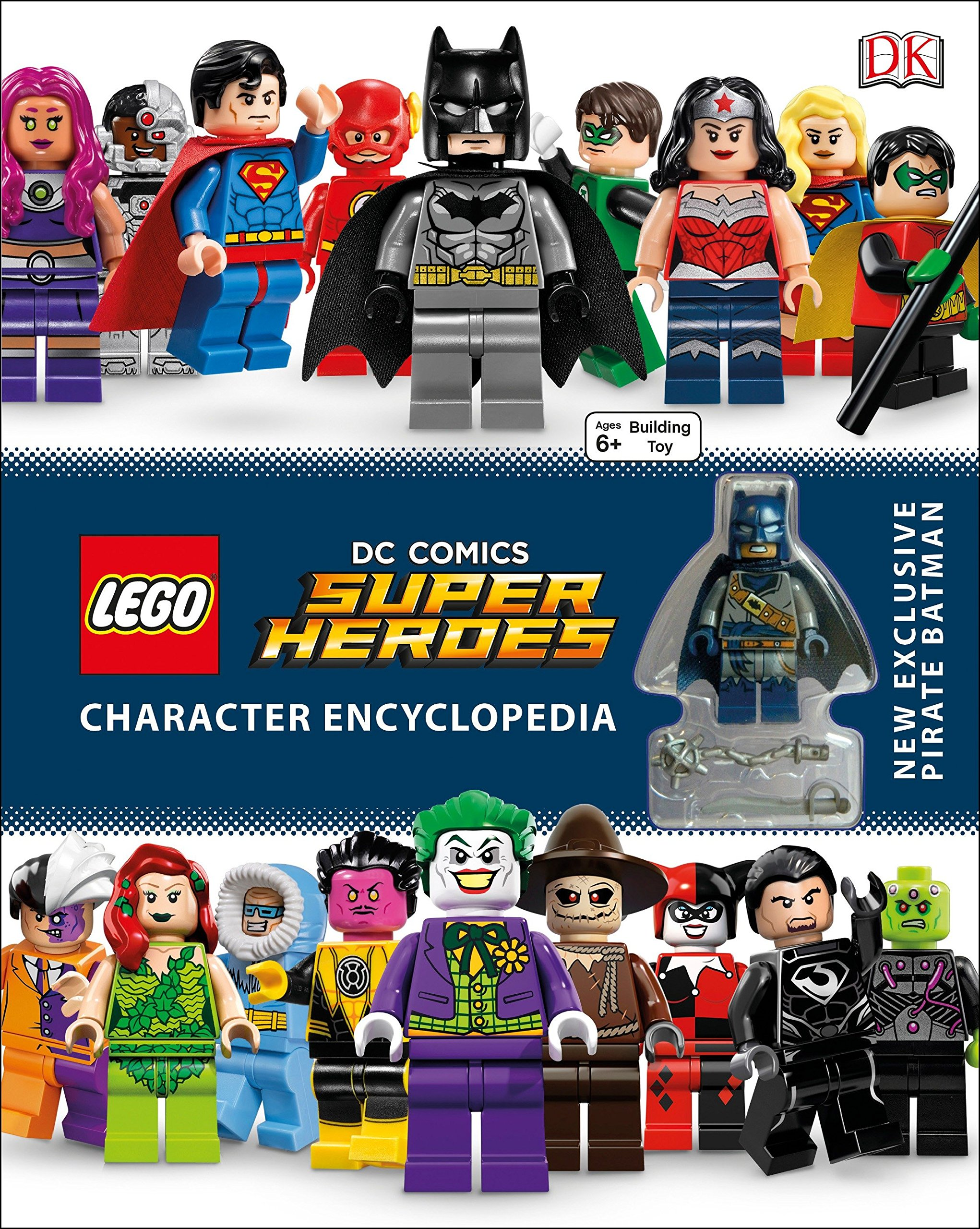 LEGO DC Comics Super Heroes Character Encyclopedia Hardcover – April 5, 2016 DK DK Children 1465444548 Media Tie-In