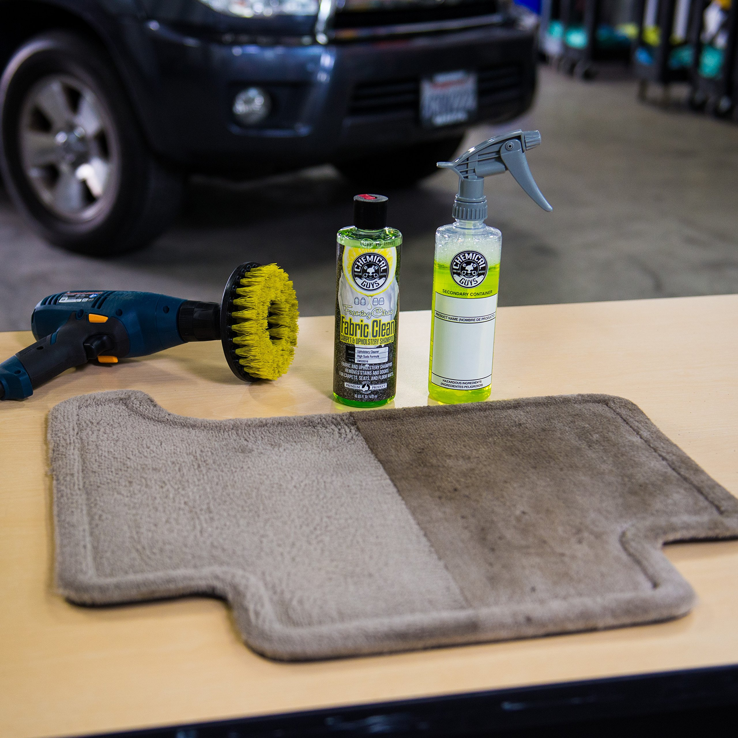 Chemical Guys HOL315 Carpet and Upholstery Cleaning Kit (3 Items), 16. Fluid_Ounces by Chemical Guys (Image #7)