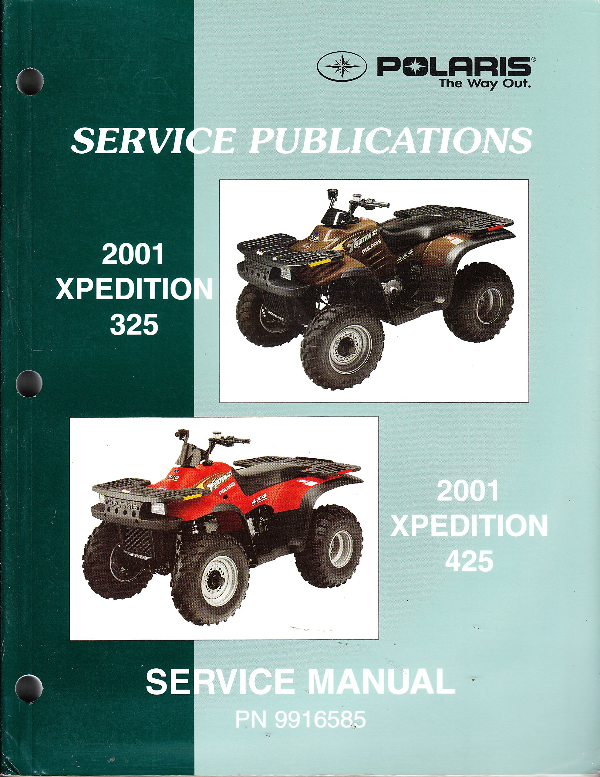 polaris atv 2001 xpedition 325 425 service repair manual 9916585 rh amazon com 2001 M3 Engine 2001 BMW 325Ci Convertible