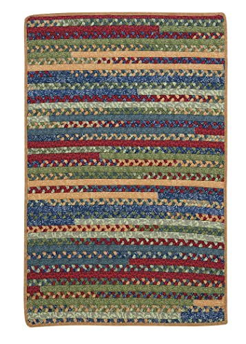 Market Mix Rect Rug, 4 by 6-Feet, Sea Glass