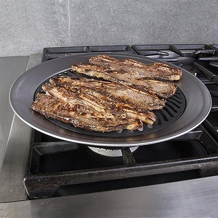 Amazon.com: Kitchen + Home hornilla que no larga humo, para ...