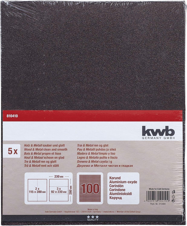 Izar 13548/HSS f/ür Metall HSSE din338ts tialsin 5,00/mm