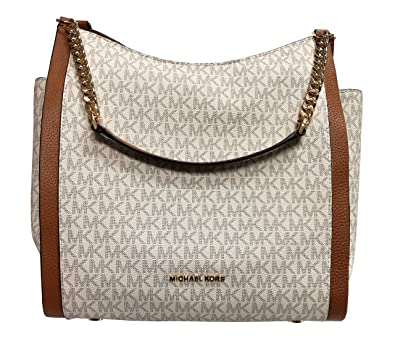 c53af67769fc Amazon.com: Michael Kors Newbury Medium Chain Shoulder Bag: Shoes