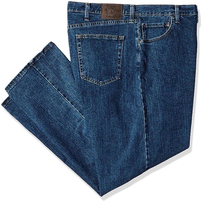 Amazon.com: Wrangler Hombre Big y Tall ajuste Regular Jean ...
