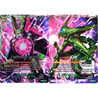Dragon Ball Super carte BT2-068-R Cell & Cell forme ultime