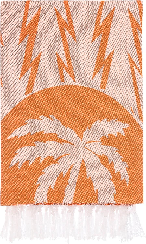 Cacala Serie de Toallas de Ba/ño Turcas Tradicionales de Palm Dise/ño para ba/ños con un Secado Rapido y Absorbentes 100/% algod/ón Natural Sauna Colores c/álidos con Rayas Ultra Suaves Playa