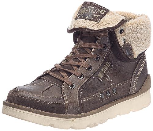 Mustang Men s 4051-603 Classic Boots, Brown (Dunkelbraun), ... 8041083a1f3a