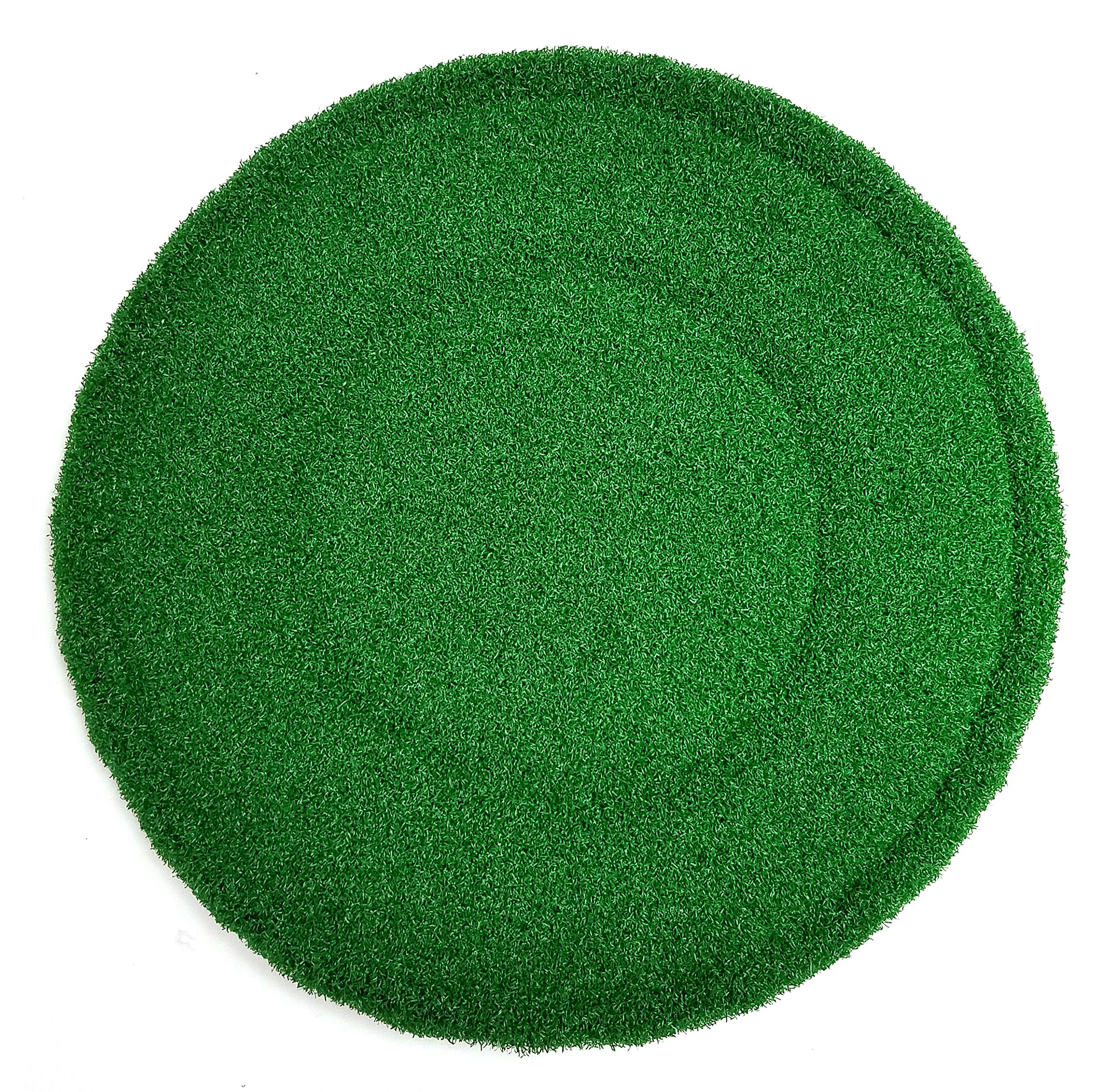 Square Scrub 20'' Green Round Tile and Grout Pad - Sold Individually by Square Scrub