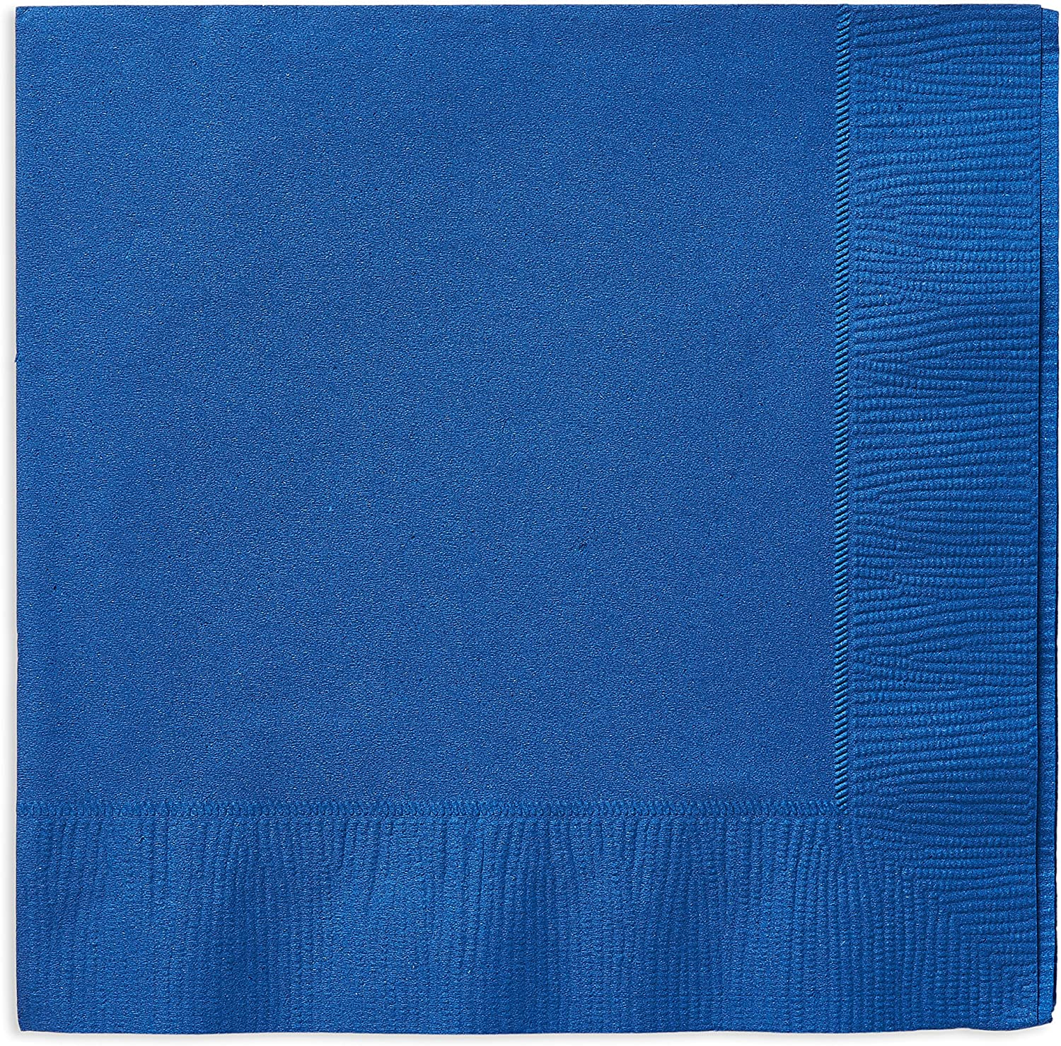 American Greetings Blue Party Supplies, Paper Lunch Napkins (50-Count)