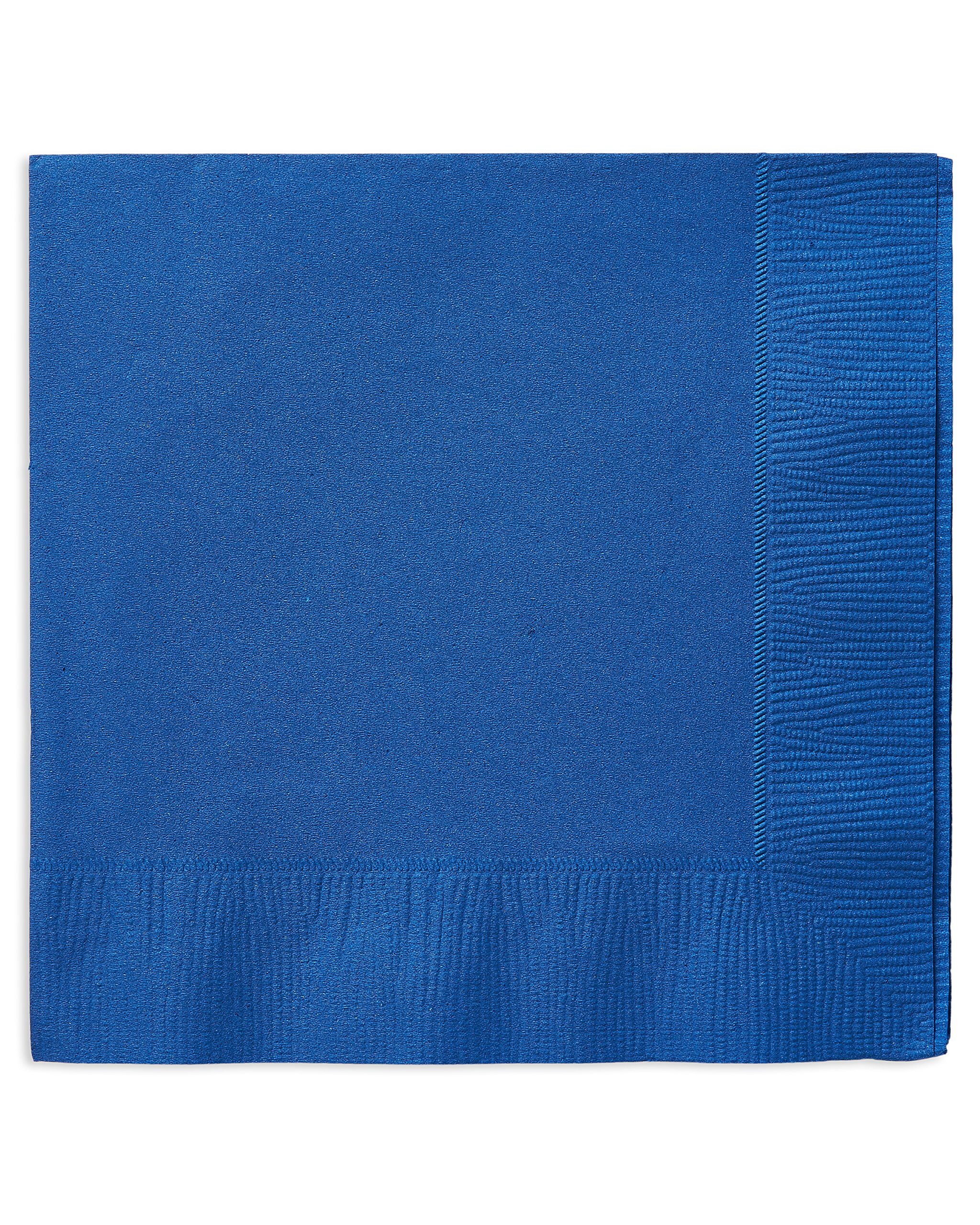American Greetings Lunch Napkins (50 Count), Royal Blue