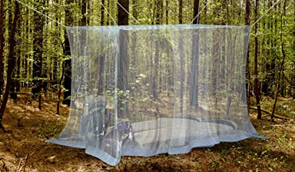 Premium Mosquito Net for Double Bed by Naturo + 2 Insect Repellent Bracelets - Full Hanging & Amazon.com: Premium Mosquito Net for Double Bed by Naturo + 2 ...