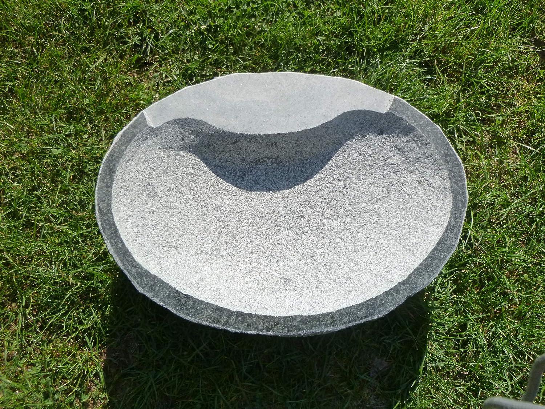 Vogeltränke aus Granit Nr. 45 | Vogelbad aus Naturstein | Unikat ...