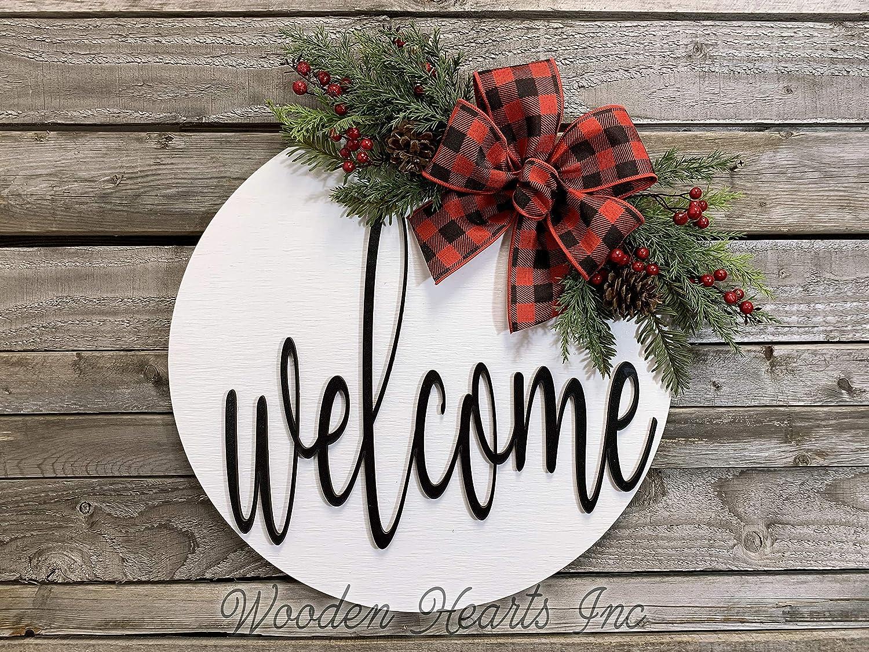 Who/'s Welcome Christmas Wreath