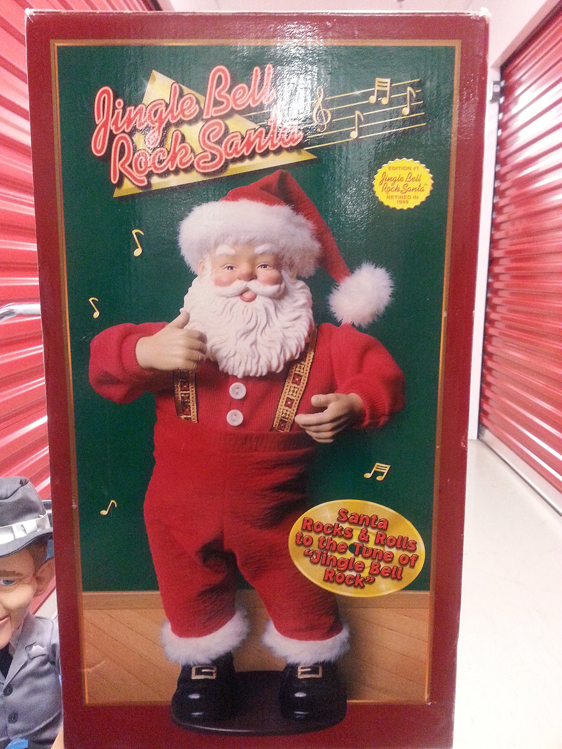 Jingle Bell Rock Santa Animated Dancing Singing Santa Claus