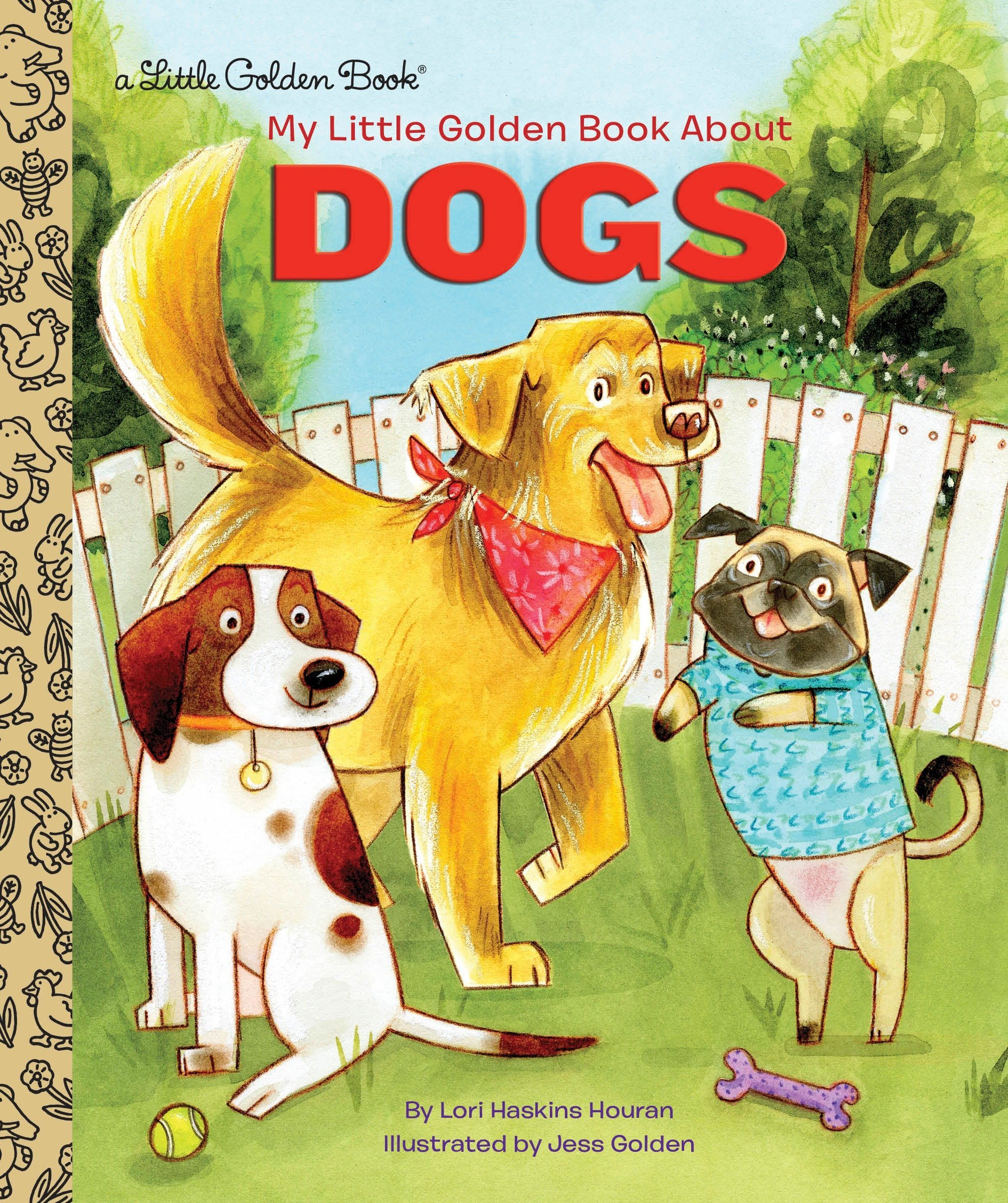 My Little Golden Book About Dogs PDF