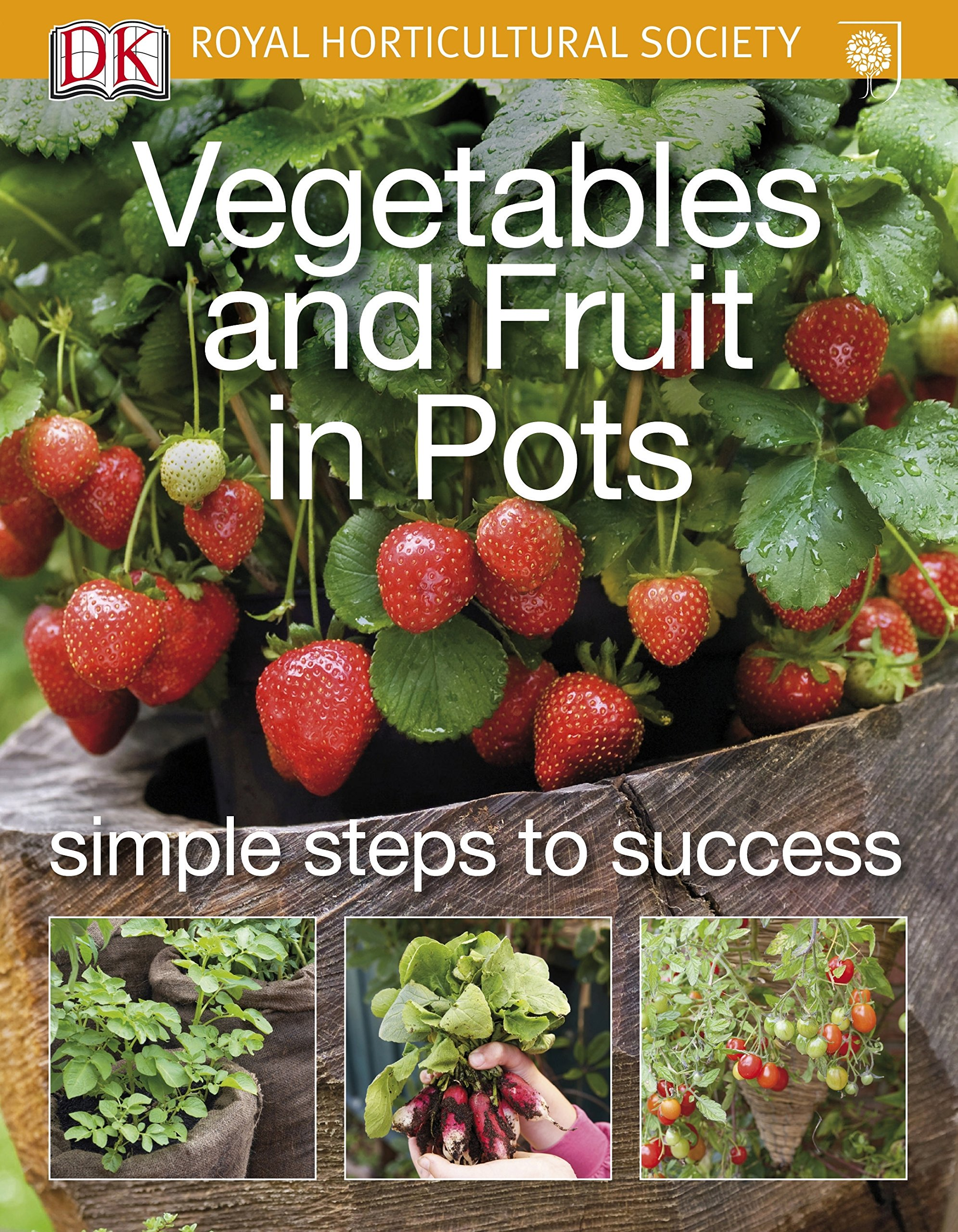 Vegetables and Fruit in Pots (Rhs Simple Steps to Success)