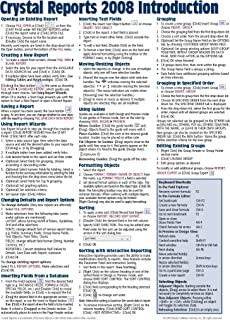 crystal reports 2008 for dummies 9780470290774 computer science rh amazon com crystal reports quick reference guide crystal reports technical reference guide