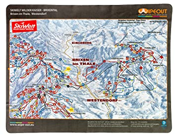 Wipeout Piste Map Lens Cloth Ski Welt Amazoncouk Sports Outdoors