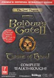 Baldur's Gate 2: Throne of Bhaal Official Strategy Guide