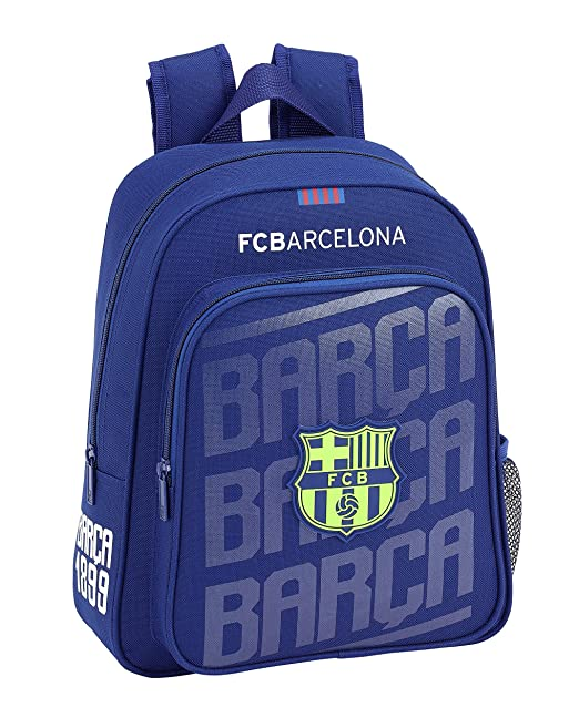 FCB FC Barcelona 611826006 2018 Mochila Escolar, 34 cm, Azul