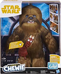 Star Wars Ultimate Co-pilot FurReal Chewie Interactive Plush Toy