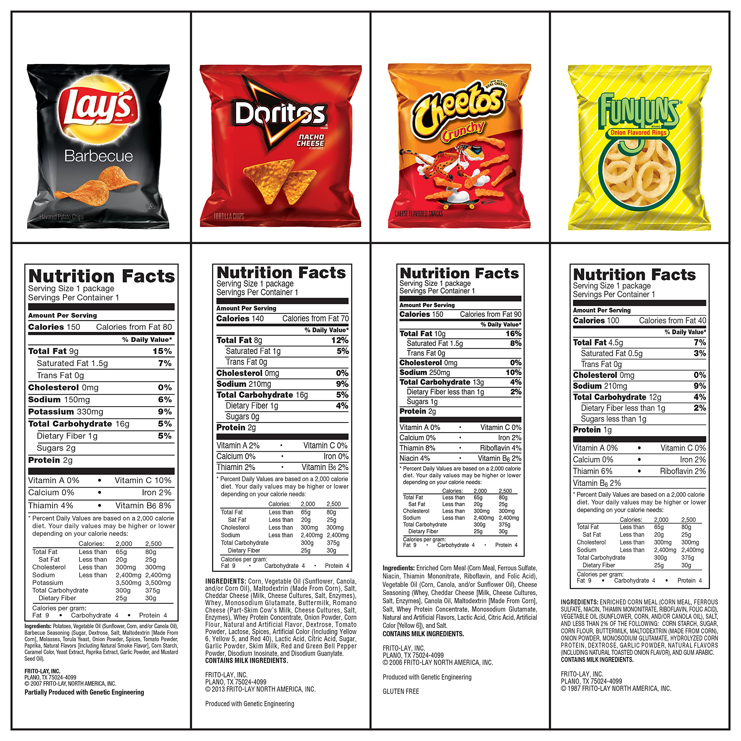 Ultimate Snack Care Package, Variety Assortment of Chips, Cookies, Crackers & More, 40 Count by Frito Lay (Image #3)