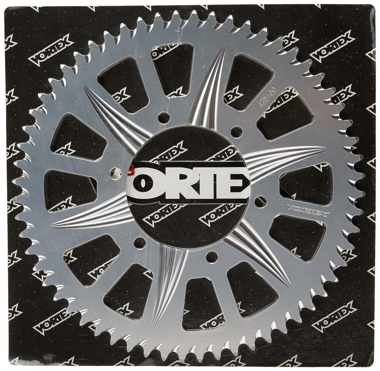 Vortex 435-60 Silver 60-Tooth Rear Sprocket