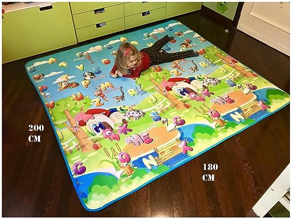 Tappeto Morbido Per Gattonare : B tappeto ultra morbido per bambini ideale per il
