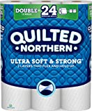 Quilted Northern  Ultra Soft & Strong Toilet Paper, Pack of 12 Double Rolls, Equivalent to 24 Regular Rolls--Packaging May Vary