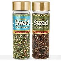 Panjon Swad Pachak Special Mumbaiya Mix & Special Calcutta Paan (Pack of 2), 210 gm