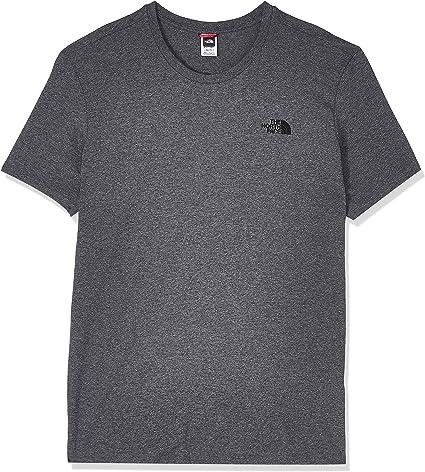 TALLA S. The North Face M S/S Simple Dome tee - Camiseta de Manga Corta para Hombre