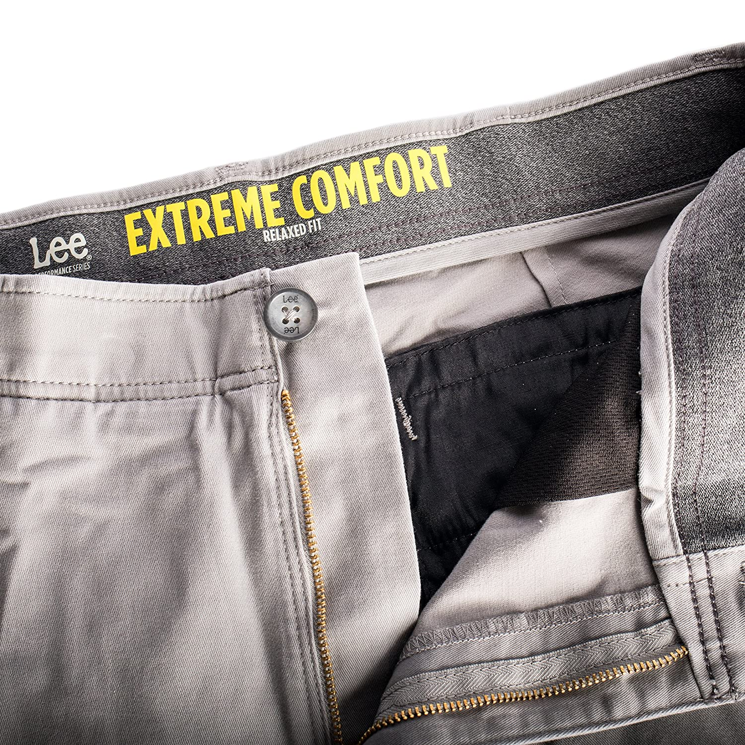 store comfort pant lee series at amazon clothing comforter men khaki extreme s performance dp waistband