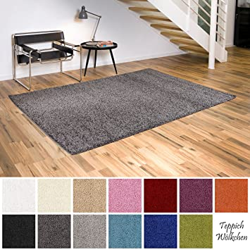 Amazonde Shaggy Teppich Flauschige Hochflor Teppiche Für