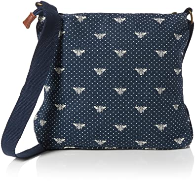 1319ac0f0 Fat Face Women's Bee Canvas Cross Body Lingerie Bag, Blue (Navy), One Size:  Amazon.co.uk: Shoes & Bags