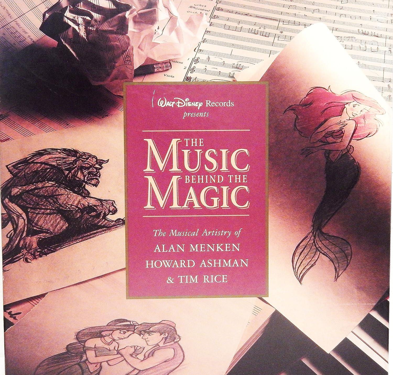 Alan Menken, Howard Ashman, Tim Rice   The Music Behind The Magic: The  Musical Artistry Of Alan Menken, Howard Ashman, And Tim Rice.   Amazon.com  Music