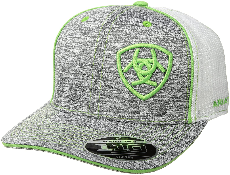 db2f08c95b359 Ariat Men s Heather Mesh 110 Back Hat