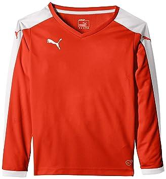 Puma T-Shirt Pitch Long Sleeve - Camiseta, Color, Talla de: 176