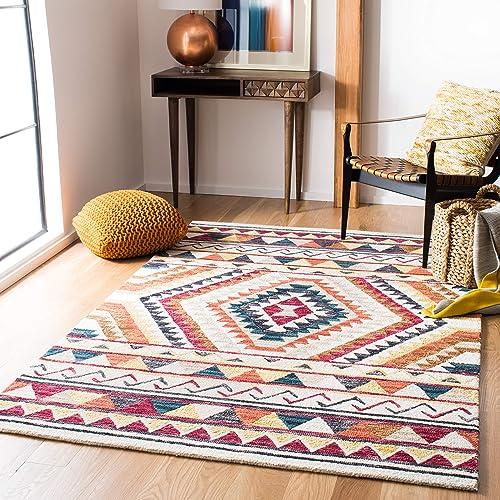 Safavieh Aspen Collection APN806P Handmade Wool Area Rug
