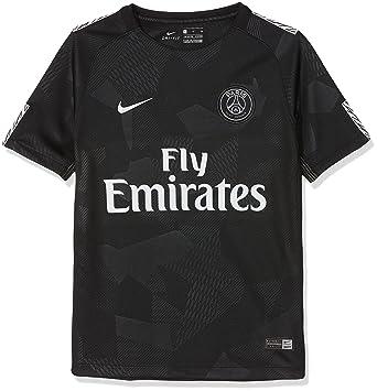 Nike PSG Y Nk BRT Stad JSY SS 3r Camiseta 3ª Equipación Paris Saint Germain  17-18 b8284c47db3d5