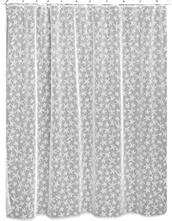 product image for Heritage Lace Starfish Shower Curtain, 72 by 72-Inch, White