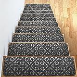 Carpet Stair Treads Set of 13 Non Slip/Skid