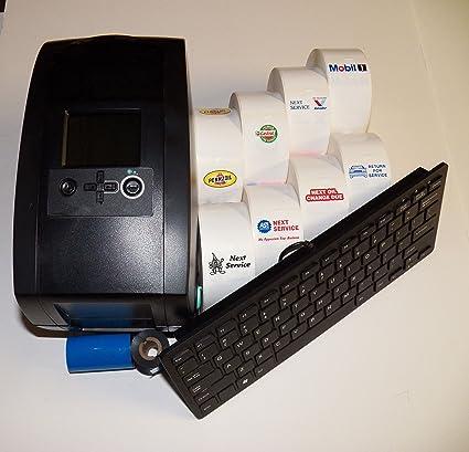Oil Change Sticker Printer >> Oil Change Sticker Printer Service Reminder System