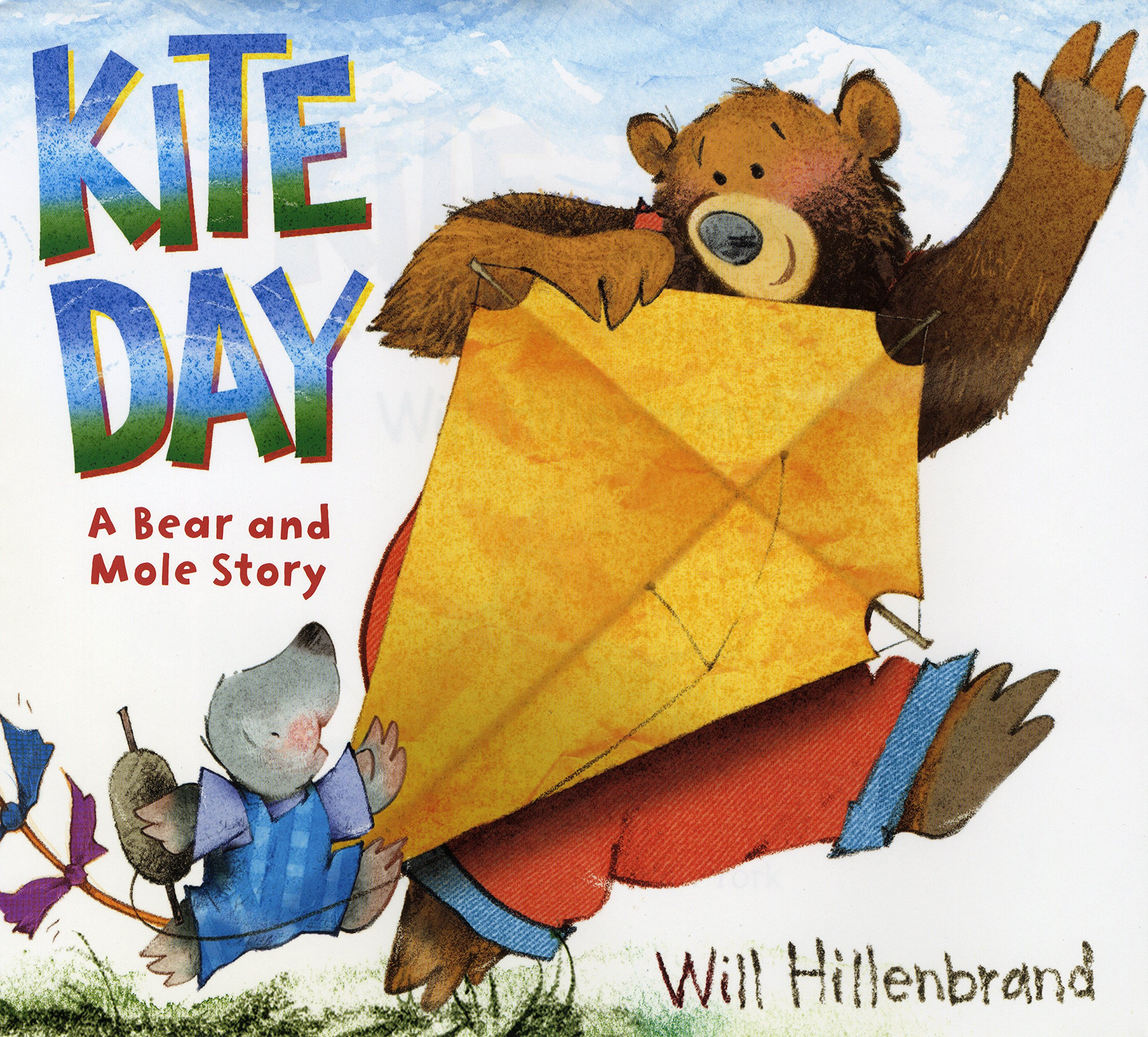 Kite Day  A Bear and Mole Story  Will Hillenbrand  9780823427581   Amazon.com  Books c97b5b20bd
