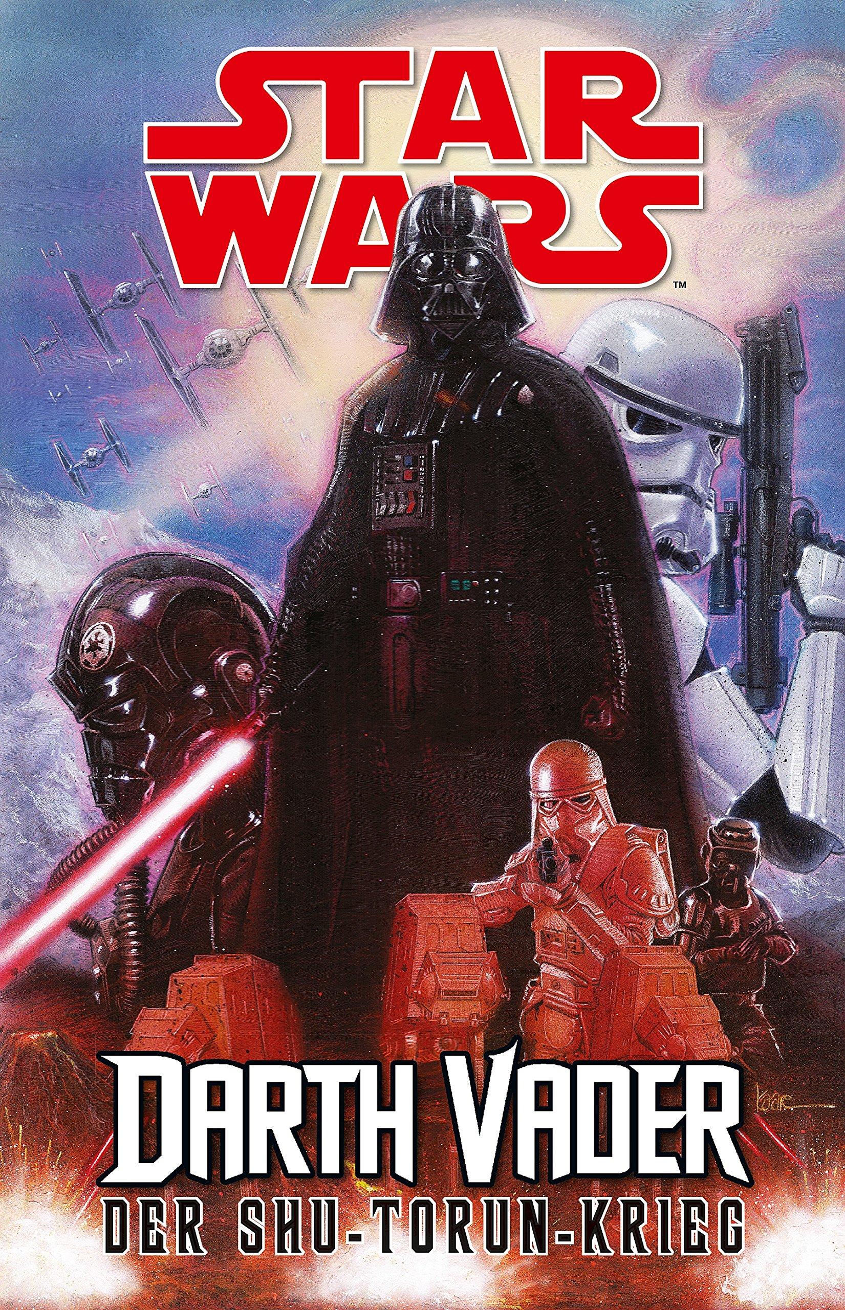 Star Wars Comics - Darth Vader (Ein Comicabenteuer): Der Shu-Torun-Krieg
