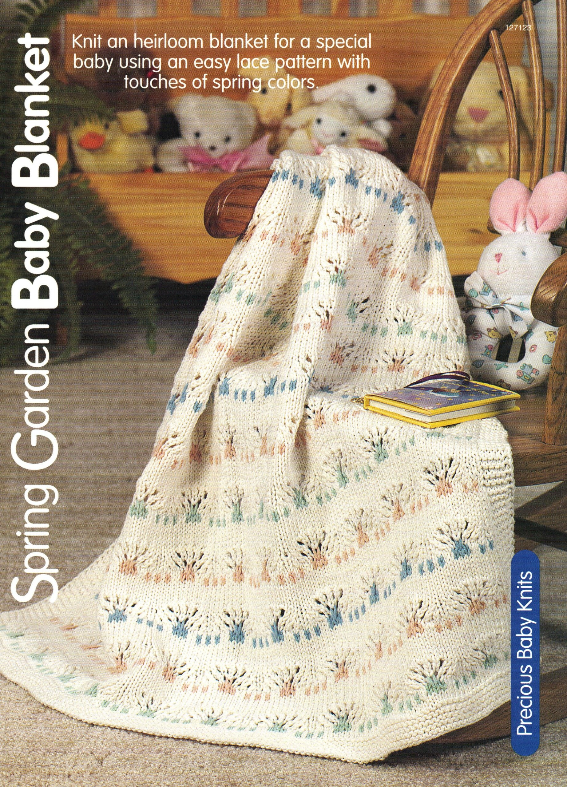 Spring Garden Baby Blanket - One Knitting Pattern for One Baby ...