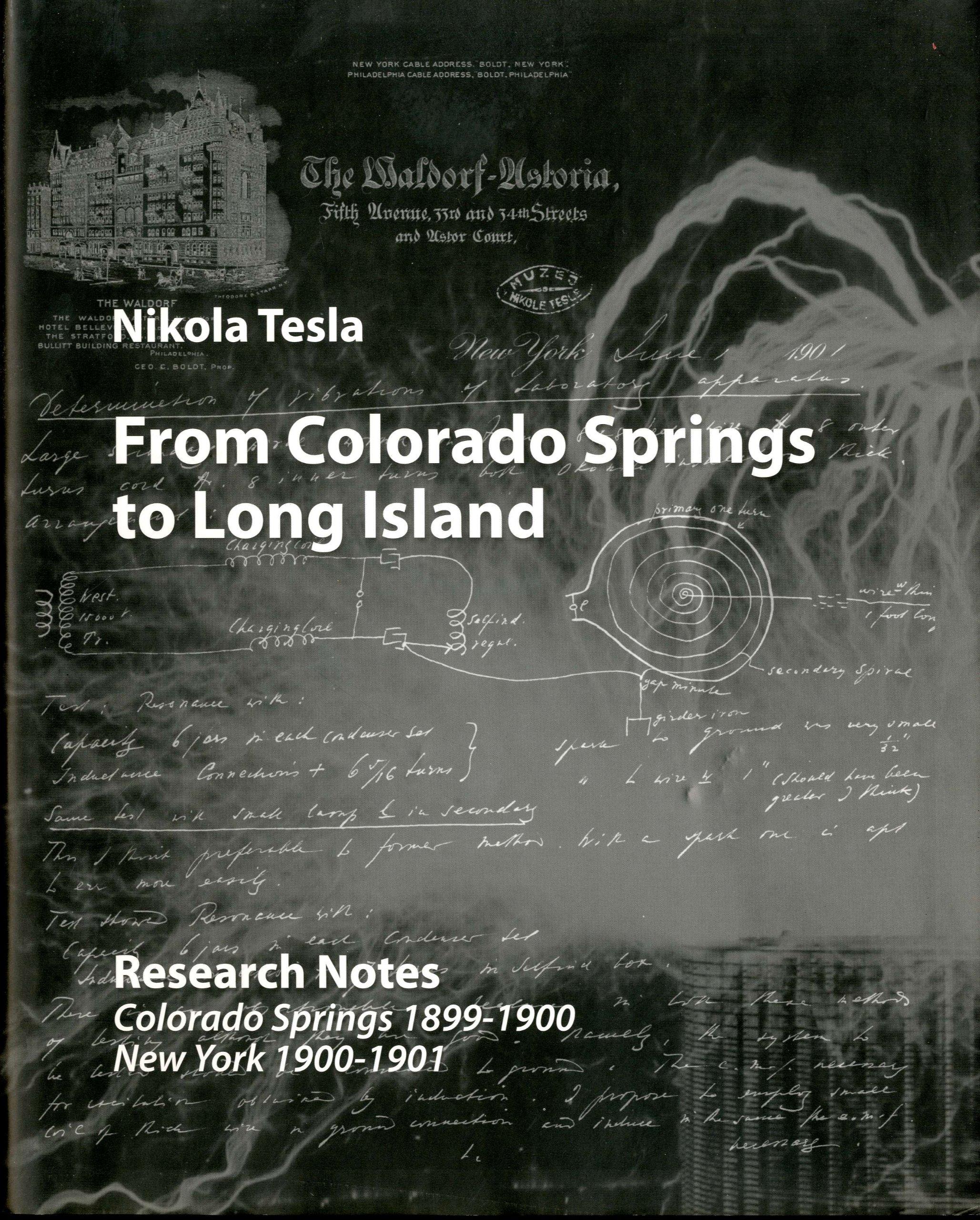 From Colorado Springs To Long Island Research Notes Edition Franklin Oscillator Circuit Tesla Shuttle How Monographs Of The Nikola Museum Aleksandar Marincic Vojin Popovic
