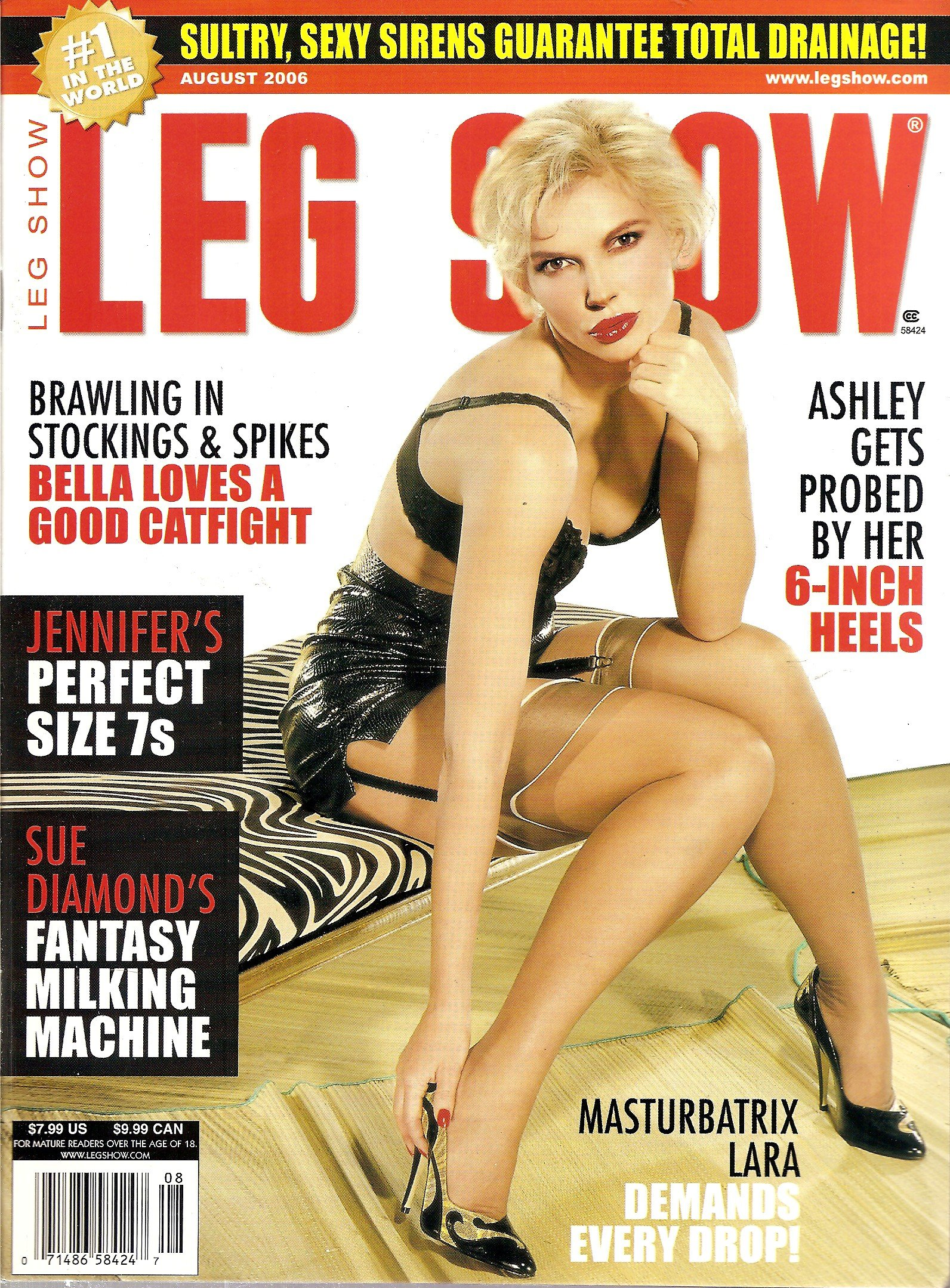 Legshow sam.leonardjoel.com.au
