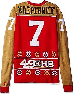 f90063c3 San Francisco 49ers Kaepernick C. #7 2015 Player Ugly Sweater Large