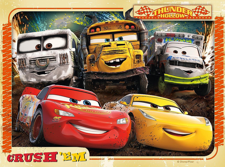Amazon.com: Ravensburger 6894 Disney Pixar Cars 3 - 4 In A Box Jigsaw  Puzzles: Toys & Games