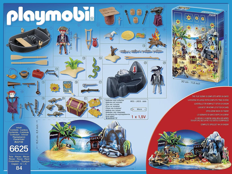 PLAYMOBIL 6625 calendrier d/'avent ile des pirates